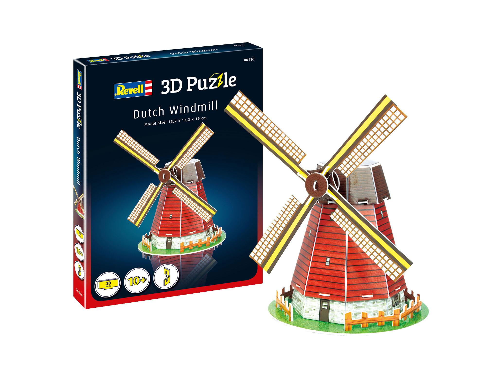 Revell Mini 3D Puzzle - Windmühle 00110