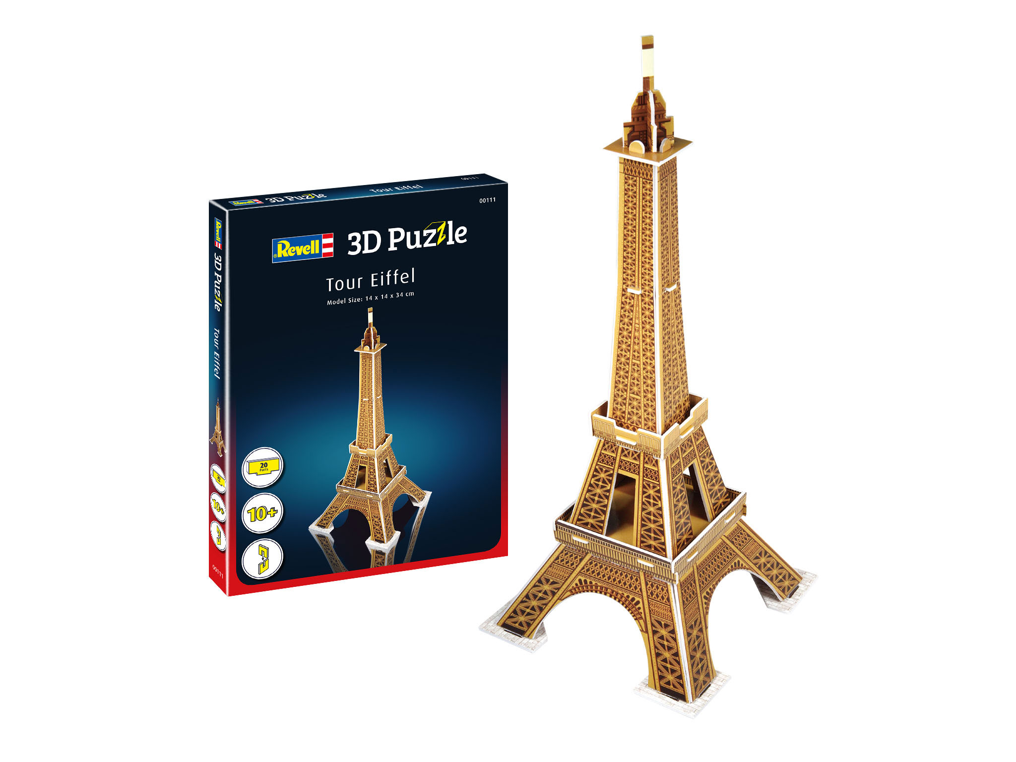 Revell 3D Mini Puzzle - Eifelturm 00111