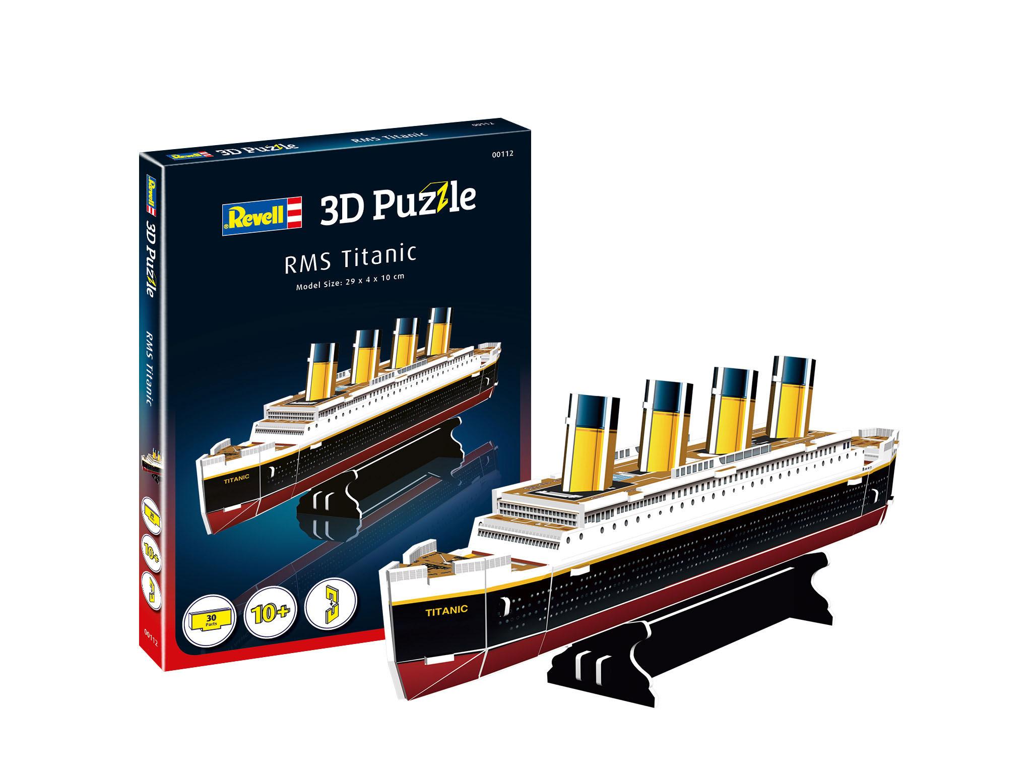 Revell 3D Mini Puzzle - RMS Titanic 00113
