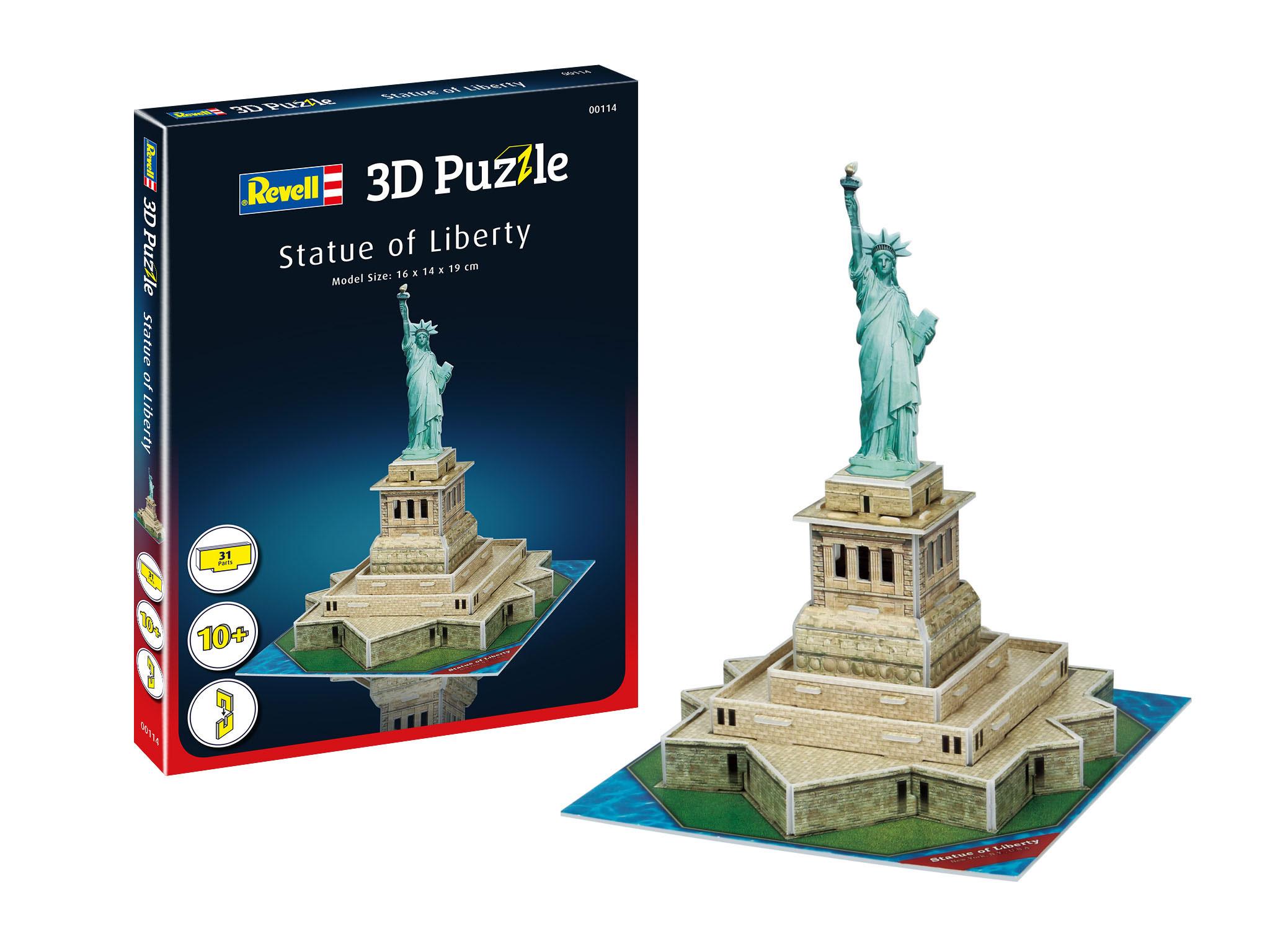 Revell 3D Mini Puzzle - Freiheitsstatue 00114