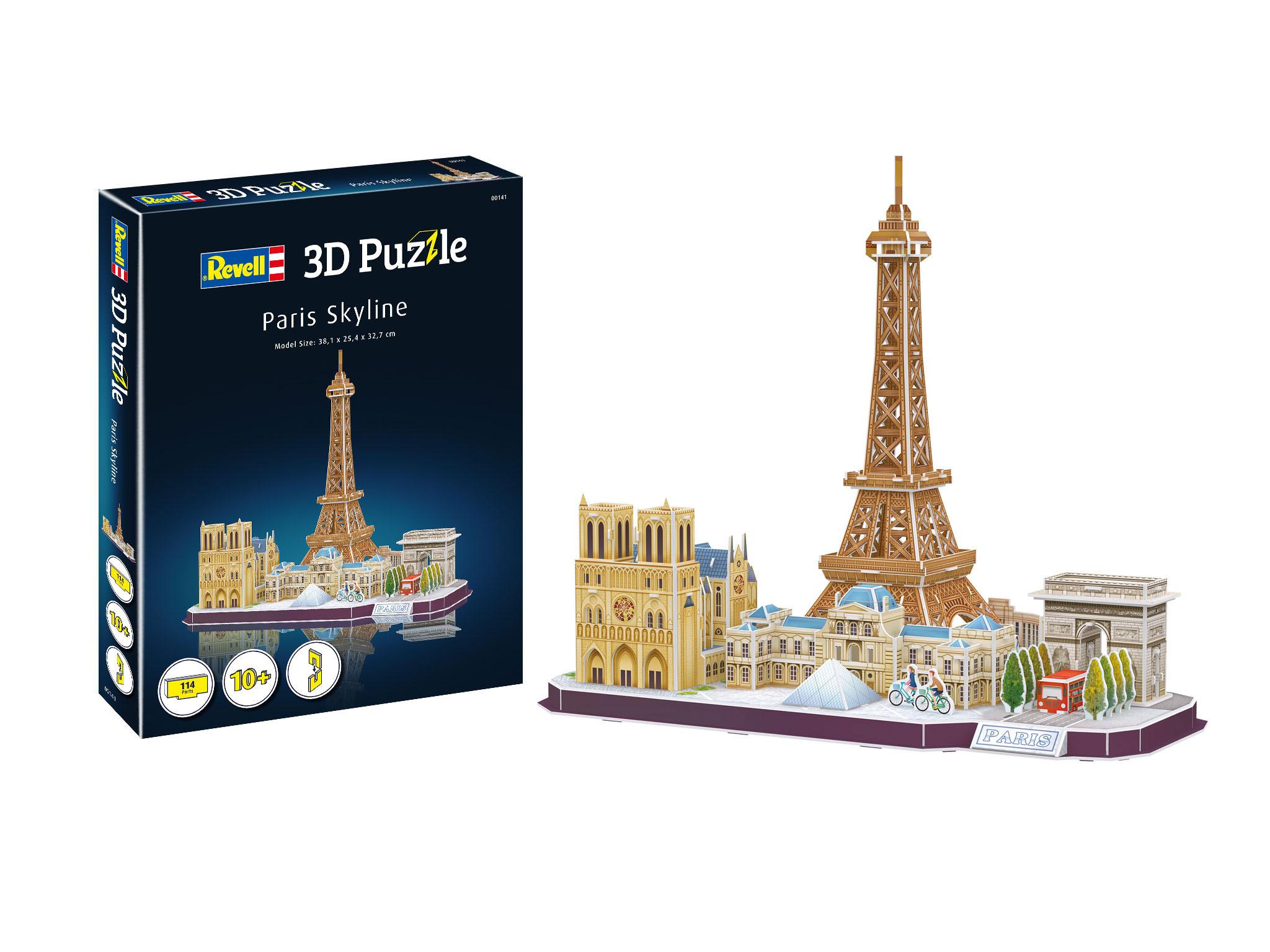 Revell 3D Puzzle - Paris Skyline 00141