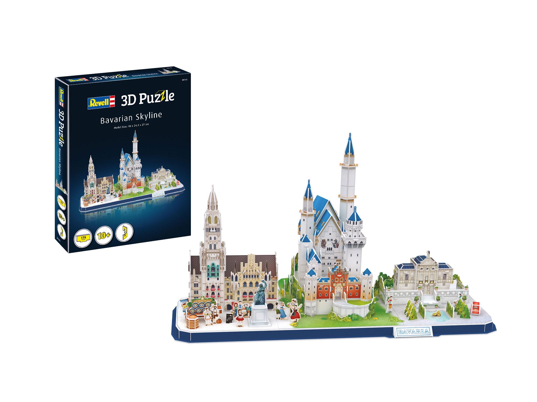 Revell 3D Puzzle - Bavarian Skyline 00143
