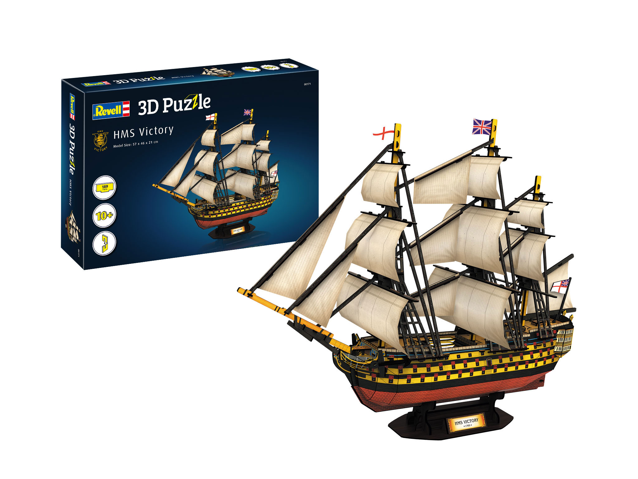 Revell 3D Puzzle - HMS Victory 00171