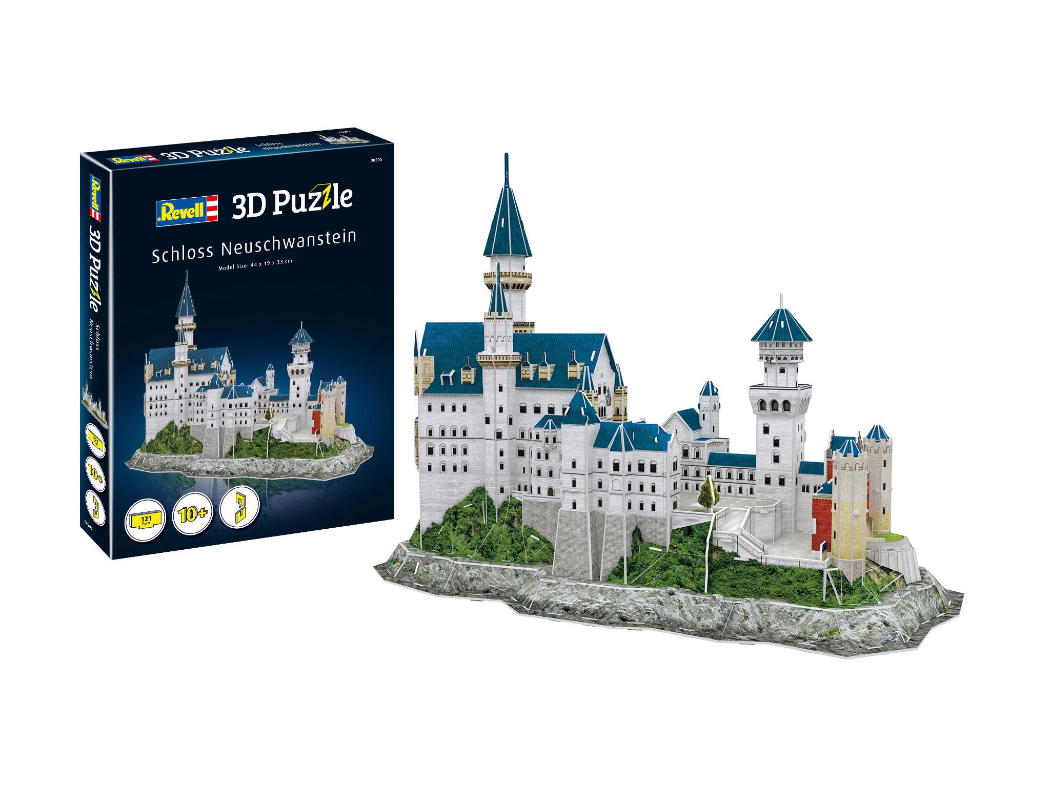 Revell 3D Puzzle - Schloss Neuschwanstein 00205