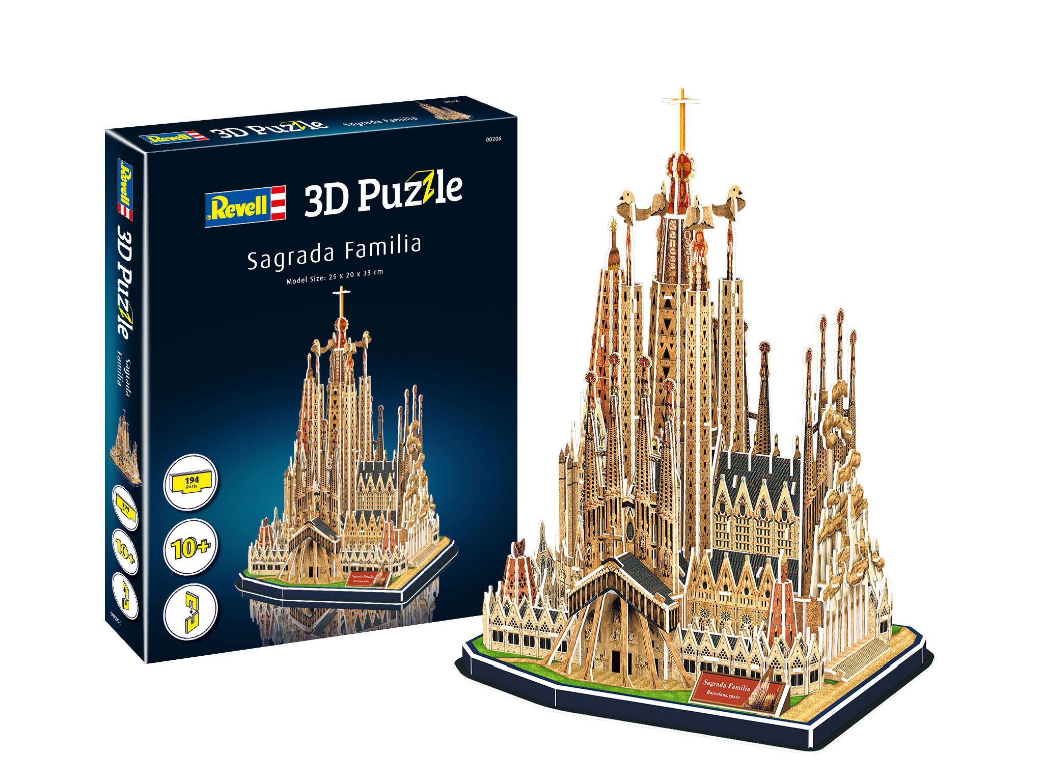 Revell 3D Puzzle - Sagrada Familia 00206
